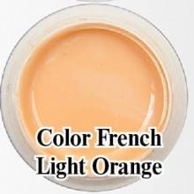 Биогель для французкого маникюра Bio Gel  Color French Light Orange