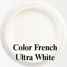 Биогель для французкого маникюра Bio Gel  Color French Ultra White