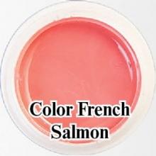 Биогель для французкого маникюра Bio Gel  Color French Salmon