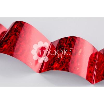 Фольга (Красный Осколки льда)
