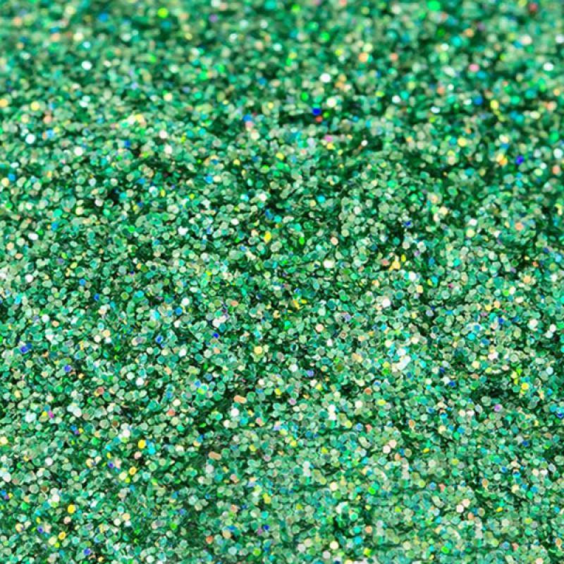 Слюда Зеленый «3, голограмма