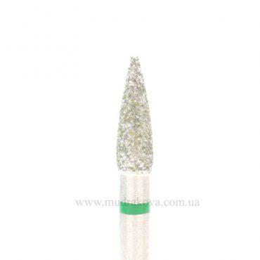 Фреза конус игловидный, зеленый(средний)
