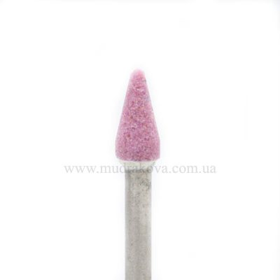 Насадка корундовая розовая  С111pK