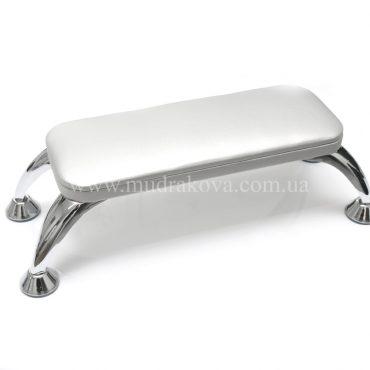 Подставка для маникюра на ножках серебро