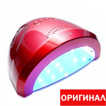Лампа для ногтей SUNone 48W красная (ОРИГИНАЛ)