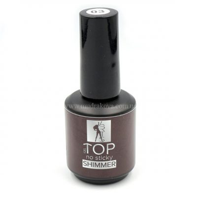 TOP Shimmer №3 – глянцевый топ с блестками