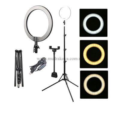 Лампа кольцевая для видео и фото BUCOS BCS-R180