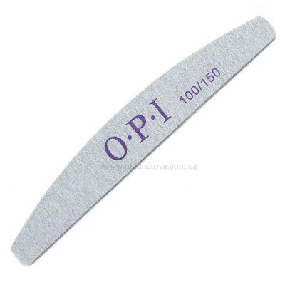 Пилки маникюрные O.P.I/(100×150грит) для ногтей