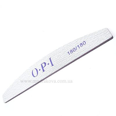 Пилки маникюрные O.P.I/(180×180грит) для ногтей