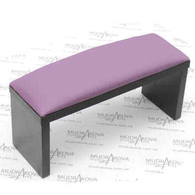 Подставка для рук черная/violet