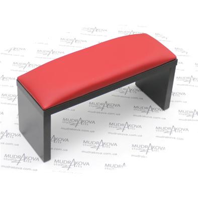Подставка для рук черная/red