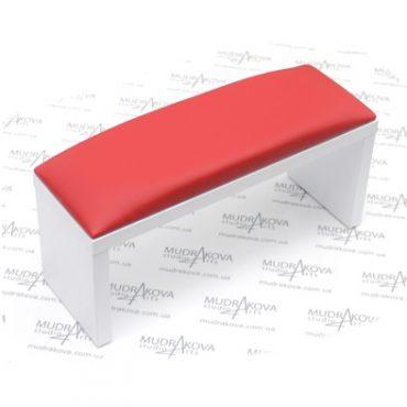 Подставка для рук белая/red