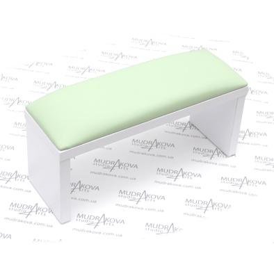 Подставка для рук белая/mint