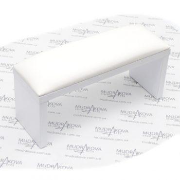 Подставка для рук белая/white