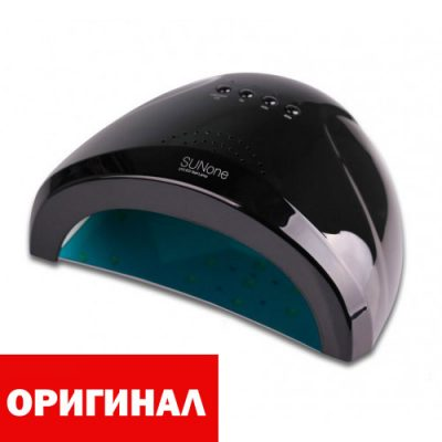 Лампа для маникюра SUNone 48W черная (ОРИГИНАЛ)