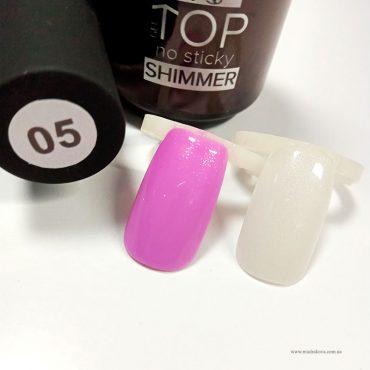TOP Shimmer №5 – глянцевый топ с блестками